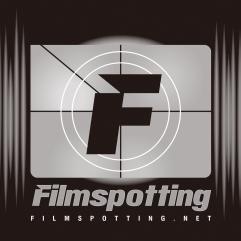 Logo for Filmspotting a podcast about films